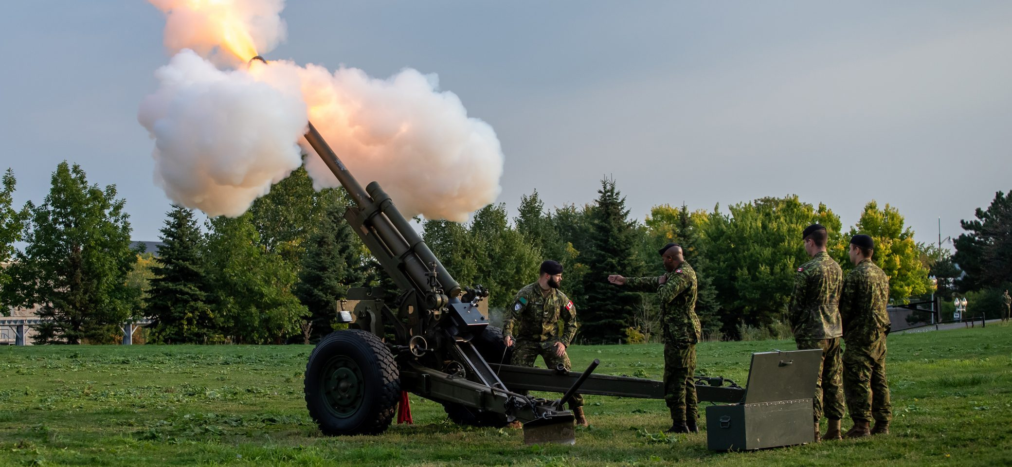 Howitzer at 2019 event