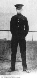 Alex Decoteau police uniform