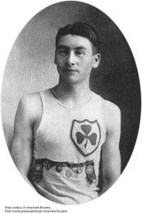 Alex Decoteau as athlete