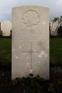 Alex Decoteau's grave
